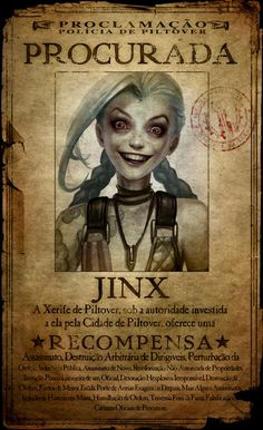 League Of Legends Jinx image by Edith. Discover all images by Edith. Find more awesome league of legends images on PicsArt. Lol League Of Legends, League Of Legends Characters, Overwatch, Cthulhu, Lol Jinx, League Of Legends Personajes, Jinx Cosplay, Riot Games, Mobile Legends