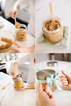 Mother's Day DIY sugar scrub