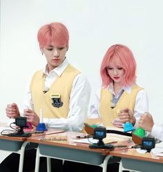Kpop Couples, Cute Couples, Astro Wallpaper, Galaxy Wallpaper, Jungkook School, Gfriend And Bts, Ex Gf, Bts Girl, Jungkook Fanart