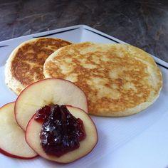 Rezept Fluffy Pancakes - Luftige Pfannkuchen von Cattie - Rezept der Kategorie Desserts