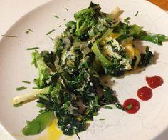 Kale & broccoli with green onions Egg scramble || #COLOReats @coloreats