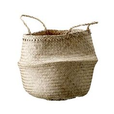 This popular storage basket by Bloomingville is made of seagrass and can be used either as storage or as a basket for plants and smaller trees. Seagrass is a durable, flexible material that can be used both indoor and outdoor. Perfect when you want to bring more natural material into your home!