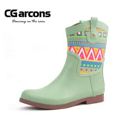 Find More Information about Unique boots print short women's rain boots rainboots,High Quality boots shoelace,China boot cleats Suppliers, Cheap boots dog from Fashion trend International Trade Co. Ltd's store on Aliexpress.com