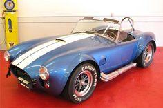 Shelby Cobra Replica, 1965 Shelby Cobra, Shelby Gt, Ac Cobra, Classic Sports Cars, Classic Cars, Shelby Daytona, Gt 500, Barrett Jackson Auction