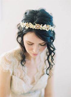 Bridal Hair Accessories 2015 Collection from Erica Elizabeth Designs #เครื่องประดับผม #งานแต่งงาน