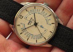 Rare soviet RAKETA Medical watch for doctors QUARTZ Dial w/ Pulse meter '1980s. $135 off of ebay.