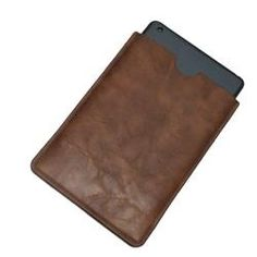 Jumblebay $9.99 A minimalistic slide in sleeve for storing and carrying the iPad Mini tablet. Reassuring to hold and offers good protection from dirt, scratches and minor knocks. Made with synthetic (man made) leatherette material and lined with a micro fabric.