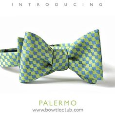 http://www.bowtieclub.com/collections/new-bow-ties/products/palermo-bow-tie #bowtie #bowties