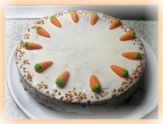 Karottenkuchen ( Rüblitorte )