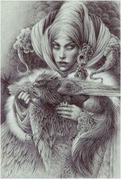 Gray Witch by Anwaraidd.deviantart.com on @DeviantArt