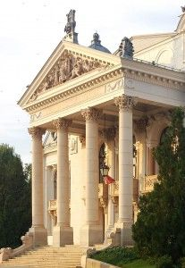 Neoclassical Architecture, Moldova, Fantasy Artwork, Baroque, Gazebo, Theatre, Places To Visit, Outdoor Structures, Workout