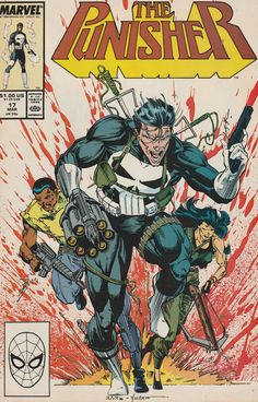 The Punisher # 17 Marvel Comics Vol. The Punisher, Punisher Comic Book, Punisher Comics, Marvel Comic Books, Comic Books Art, Comic Art, Book Art, Comic Superheroes, Marvel Characters
