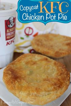Make your own version of the copycat KFC Chicken Pot Pie