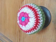 Crochet knob covers! I don't know how practical this would be for regular door knobs, but it could be a DIY kid-proofing idea and also, if you are using old doorknobs as coat pegs or similar, could be a cute way to cover not so pretty old door knobs.