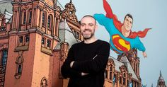 From spoofing The Broons to taking on some of DC's most recognisable superheroes, the largest collection of the artist's work goes on display at Kelvingrove Museum and Art Gallery from today.