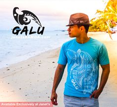 Introducing GALU: A New Brand of Samoan Clothing for Men Made in the Pacific from100% breathable cotton.  GALU is the WAVE or Ocean. GALU is the Energy of a Pacific Movement pulsating throughout the world. Where ever we are in this world we are children of the Pacific.  New Designs Now available exclusively at Janet's Main Store in Apia, Samoa and Janet's Airport Shop Faleolo.  Janet's ●► http://www.facebook.com/wheresamoashops janetssamoa.com 2nd level Lotemau, Apia, Samoa PH: 23371