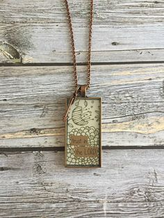 Trust in the Lord Necklace by WildRoseMN on Etsy