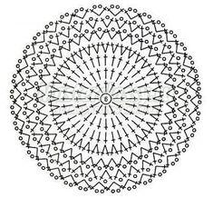 схема круга крючком столбиками с накидом: 18 тыс изображений найдено в Яндекс.Картинках Crochet Beret, Crochet Stitches, Crochet Baby, Glass Coasters, Tatting Patterns, Crochet Patterns, Doilies, Dream Catcher, Mandals