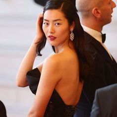 "Liu Wen Photos - Liu Wen attends the ""Two Days, One Night"" (Deux Jours, Une Nuit) premiere during the Annual Cannes Film Festival on May 2014 in Cannes, France. - 'Two Days, One Night' Premieres at Cannes Cannes Film Festival 2014, Liu Wen, Victoria Secret Fashion Show, Chinese Style, First Night, Asian Woman, Asian Beauty, Supermodels, Fashion Models"