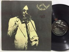 Neil Young - Tonight's The Night LP #Vinyl Record MS 2221 Reprise Black Label