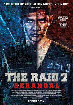 """The Raid 2: Berandal (2014)   Violenta ensalada de hostias cinematográfica... Con el mismo estilo visual pero mucho más ambiciosa, """"The Raid 2:..."""