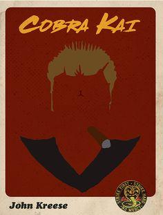 The Karate Kid 1984, Karate Kid Cobra Kai, Blade Runner Art, Cobra Kai Dojo, Kids Inspire, Series Movies, 7th Birthday, Movies Showing, Horror
