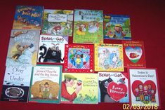 Holiday Lot of 14 St. Patrick Easter Mother's July 4th Valentine Books Teachers