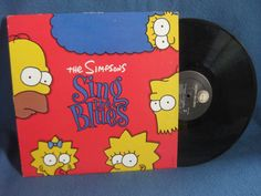 RARE Vintage The Simpsons Sing The Blues by sweetleafvinyl on Etsy