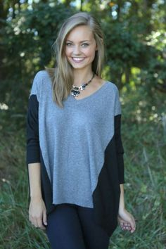 Sweater. perfect with leggings and boots.