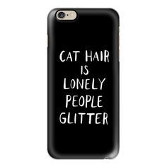 iPhone 6 Plus/6/5/5s/5c Case - Cat Hair ($40) ❤ liked on Polyvore featuring accessories, tech accessories, phone cases, phone, case cell, electronics, iphone case, apple iphone cases, slim iphone case and iphone cover case