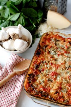 This yummy Italian spinach and chicken casserole is comfort food at its finest! Your family will love the taste and you'll love that it's made with 100% real ingredients.