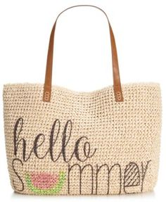 Ordered this for our beach vacation.  Can't wait to use it...will be a great tote after that, too.  Style & Co. Summer Straw Beach Tote, #Macy's