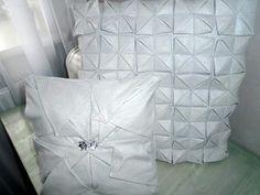 MyLittleFabric: Handmade Throw Pillows, Deco, Fabric, Handmade, Home, Tejido, Toss Pillows, Tela, Hand Made