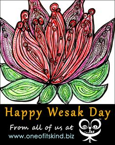 Wesak Day, Permanent Marker, Doodle Drawings, Lotus Flower, Sharpie, Stay Tuned, Highlight, Markers, Bullet