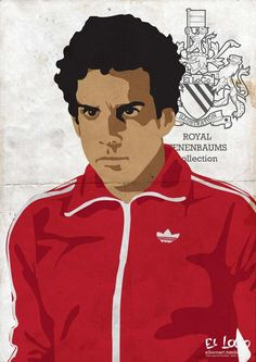 Ben Stiller – Chas Tenenbaum «The Royal Tenenbaums Author: Tiago Lopes»
