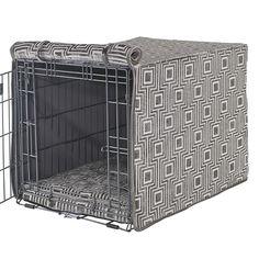 Felix Chien - Cafe Au Lait Crate Cover, $80.00 (https://www.felixchien.com/no-wire-crate-add-on/)