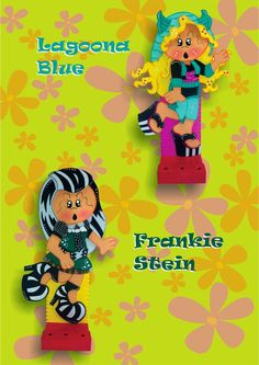 Miss Dorita: Lagoona Blue, Frankie Stein Monster High, Hello Kitty, Plate, I Am Amazing, Softies, Paper Piecing, Needle Felting, Scrapbook Paper, Minnie Mouse