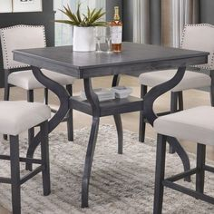 12 quilted High Dining Table online There is nothing more impressive than pointing out that you built the dinner table that everyone is enjoying. The ability to design and create somethi. Dining Table With Storage, High Dining Table, Counter Height Pub Table, Dining Table Online, Solid Wood Dining Table, Small Dining, Extendable Dining Table, Kitchen Tables, Dining Sets