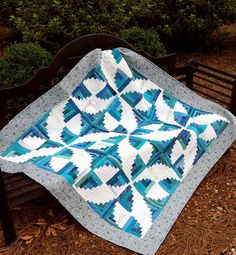 """Fly Away With Me - Found on the """"Quilting by the Bay"""" web site. This is a great quilt shop - a """"must see"""" if you are ever in the in Panama City FL area!"""