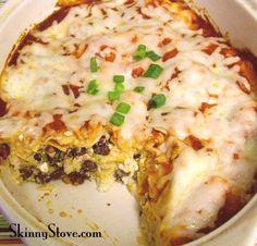 Skinny Black Bean Casserole and more healthy black bean recipes on MyNaturalFamily.com #recipes