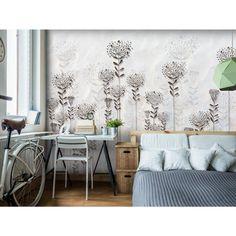 Papeles pintados con flores - las decoraciones con estilo y siempre de moda #fotomurales #fotomural #flores #fotomuralesflores #wallpapers #artgeist #salon #homedecor #home #decoraciones #interiores #decoracionesparedes