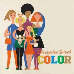 Children's book from Alexander Girard, Herman Miller textile designer