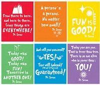 Image result for Dr. Seuss Printables