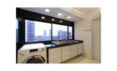 Dicas e ideias para escolher a cor dos móveis e revestimentos da sua lavanderia. | Clique Arquitetura | Seu portal de Ideias e Soluções