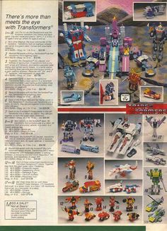 Transformers toy catalog