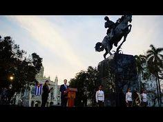 Cuba inaugura estátua...vinda dos EUA