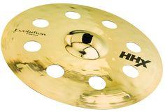 "Sabian 18"" HHX Evolution O-Zone Crash Drum Cymbal   Rainbow Guitars"