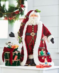 Christopher Radko Hidden Treasures Advent Santa