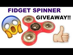 FREE FIDGET SPINNER GIVEAWAY! THERES ALOT!