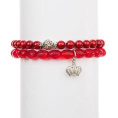 Royal Red Bracelet Set